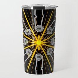 Flint Striker Mandala Graphic Science Pride Travel Mug