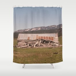 The Concluding Chapter Shower Curtain