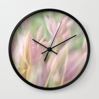 romantic Wall Clocks featuring Romantic by pf_photography
