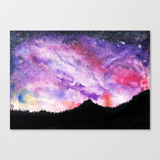 All of the Stars Not Seen  Canvas Print