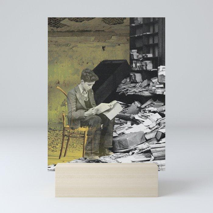 Reader Mini Art Print