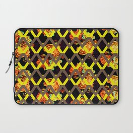 Path Yellow Flower Laptop Sleeve