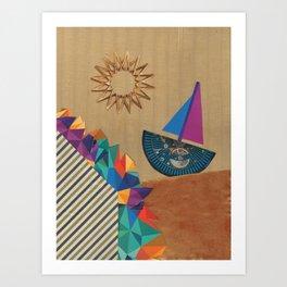 Smooth Sailing Art Print