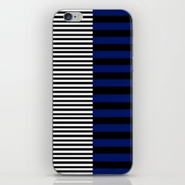 Different Sides (Blue) iPhone Skin