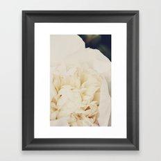 Champagne Floral Fauna  Framed Art Print