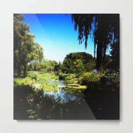 Monet's Garden in Chicago Metal Print