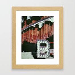"""""""B"""" is for... Framed Art Print"""