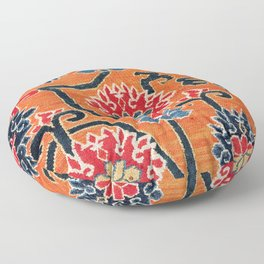 Shigatse South Tibetan Jabuye Rug Print Floor Pillow