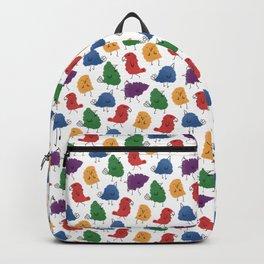 Doodle Birds Pattern Backpack