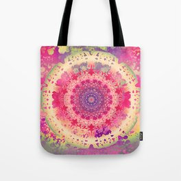 Anenome Mandala Tote Bag