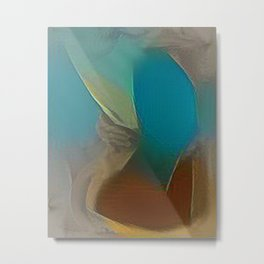 Colorful Embrace Metal Print