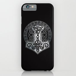 Mjolnir  - the hammer of Thor iPhone Case