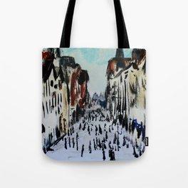 Eastgate Street, Chester, England Impressionist Fine Art Tote Bag