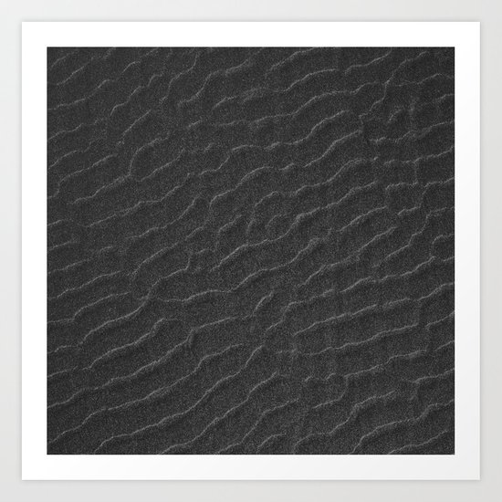 Sand Waves Art Print