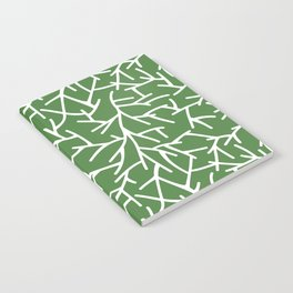 Branches - green Notebook