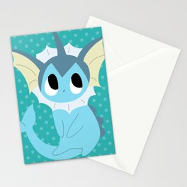 Vaporeon Stationery Cards