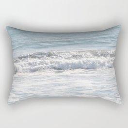 TEXTURES -- Surf   at San Clemente Rectangular Pillow