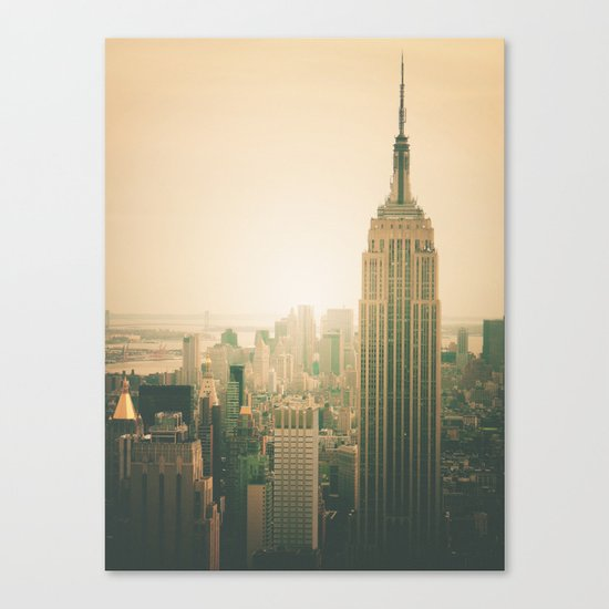 New York City - Empire State Building Canvas Print