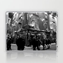 The Temple Bar, Dublin Ireland Laptop & iPad Skin