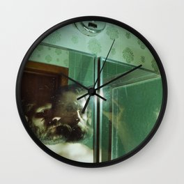 more mirror Wall Clock