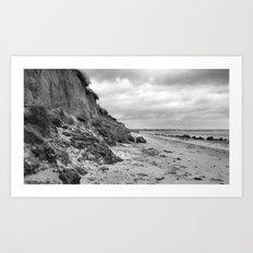 Erosion   B&W Art Print