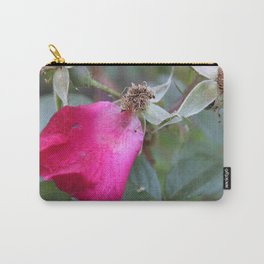 One Pink Petal Carry-All Pouch