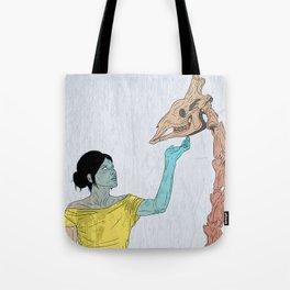 do not touch dead animals - giraffe Tote Bag