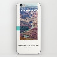parks iPhone & iPod Skins featuring National Parks: Grand Canyon by Roadtrippers