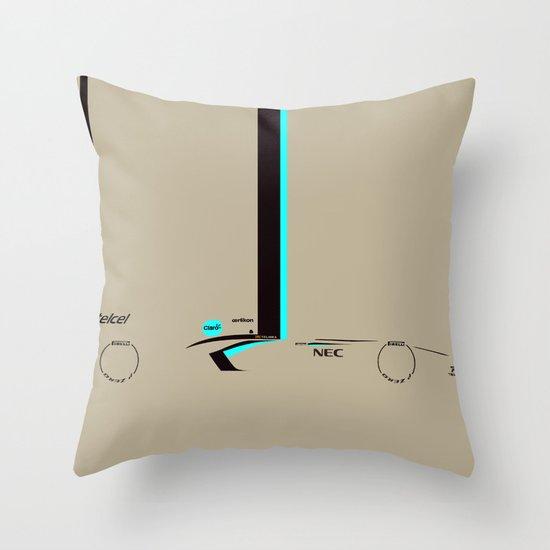 C32 Throw Pillow