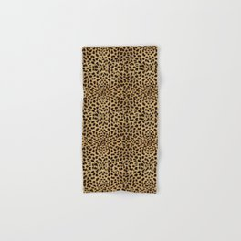 Cheetah Print Hand & Bath Towel