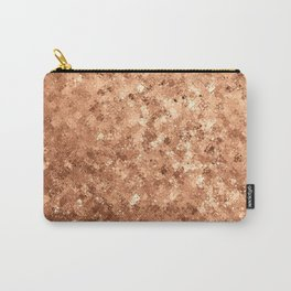 Damasque Gold Carry-All Pouch