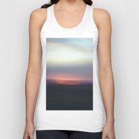 utah Tank Tops featuring Utah Skies by Sophie Pellegrini