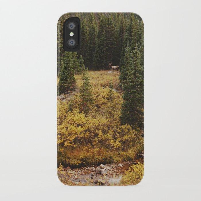 Rocky Mountain Creek Elk iPhone Case