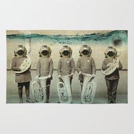 the diving bell Tuba quintet Rug