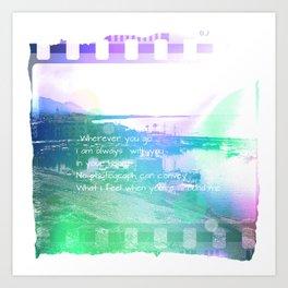 Illustration, photo, graphic desing, art Art Print