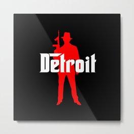 Detroit mafia Metal Print