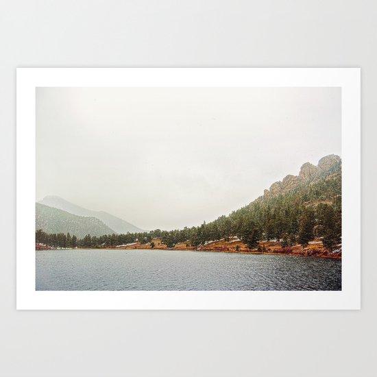 Estes Park Colorado Art Print