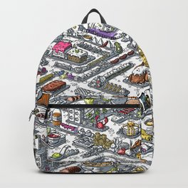 FOOD MAZE Backpack