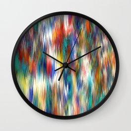 line wind Wall Clock