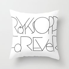 Röyksopp Forever Unique Title Throw Pillow