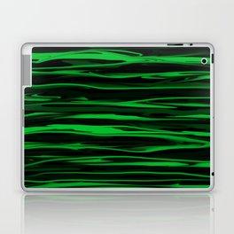 Apple Green Stripes Laptop & iPad Skin
