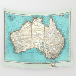 Australia; re-imagined Wall Tapestry