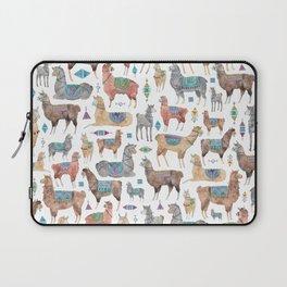 Llamas and Alpacas Laptop Sleeve
