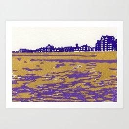 Seaview Kingsway Art Print