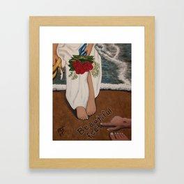 Beautiful Feet Framed Art Print
