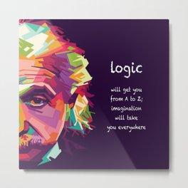 logic Metal Print