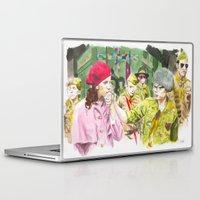 moonrise kingdom Laptop & iPad Skins featuring moonrise kingdom by jgart