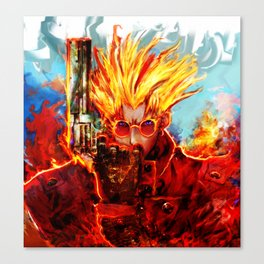 trigun Canvas Print