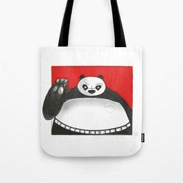 What if Baymax was Kung fu Panda Tote Bag