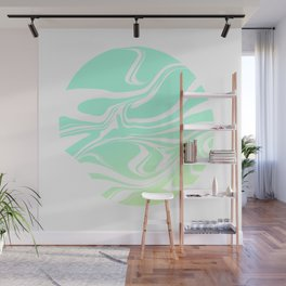 Round marble Wall Mural
